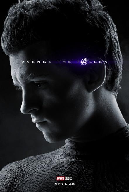Avengers: Endgame Spider-Man Poster