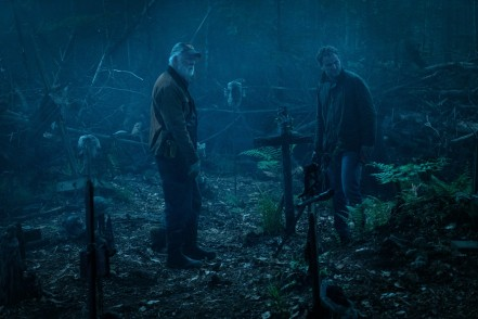 John Lithgow & Jason Clarke in Pet Sematary