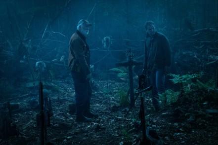 John Lithgow & Jason Clarke in Pet Sematary