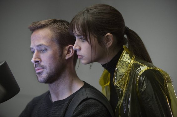 Ryan Gosling & Ana de Armas in Blade Runner 2049