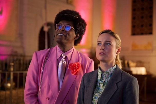 Samuel L. Jackson & Brie Larson in Unicorn Store