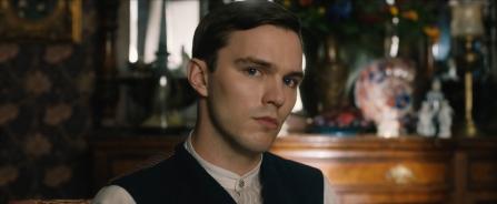 Nicholas Hoult as J.R.R. Tolkien in Tolkien