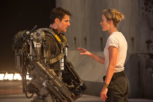 Tom Cruise & Emily Blunt in Edge of Tomorrow