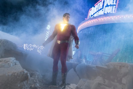 Zachary Levi in Shazam!
