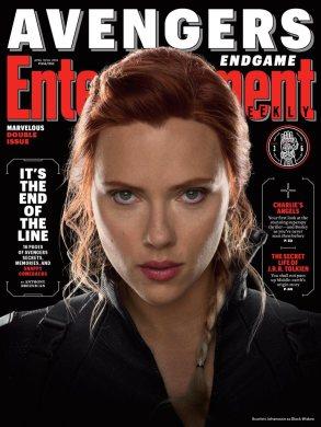 Avengers: Endgame Black Widow EW Cover
