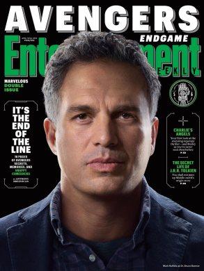 Avengers: Endgame Bruce Banner EW Cover