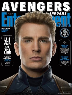 Avengers: Endgame Captain America EW Cover