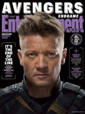 Avengers: Endgame Hawkeye EW Cover