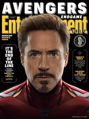 Avengers: Endgame Iron Man EW Cover