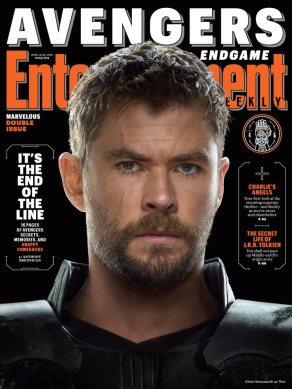 Avengers: Endgame Thor EW Cover
