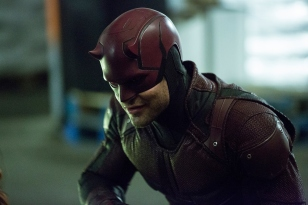 Charlie COx as Daredevil in Daredevil