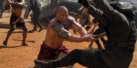 Dwayne Johnson in Fast & Furious Presents: Hobbs & Shaw