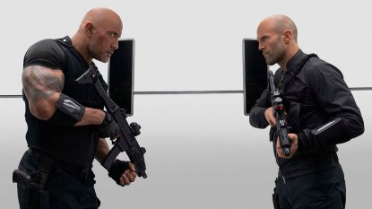 Dwayne Johnson & Jason Statham in Fast & Furious Presents: Hobbs & Shaw