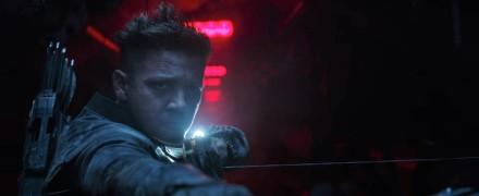 Jeremy Renner as Hawkeye in Avengers Endgame