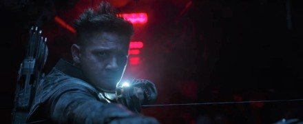 Jeremy Renner as Hawkeye in Avengers Endgame