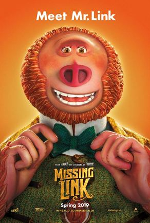 Missing Link Official Poster