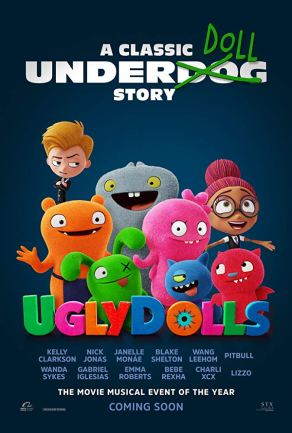 Ugly Dolls Official Poster