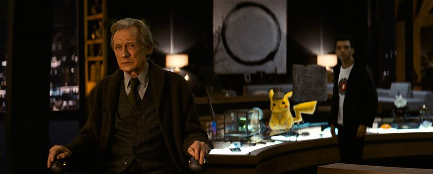 Justice Smith Bill Nighy Pokemon Detective Pikachu