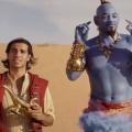 Mena Massoud Will Smith Aladdin Genie